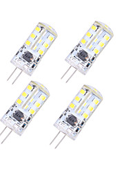 YouOKlight  4PCS G4 5W 320lm 27-SMD 2835 Warm White Crystal Lamp (12V)