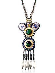 Femme Pendentif de collier Alliage Mode Arc-en-ciel Bijoux Pour Mariage 1pc