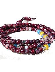 Strand Bracelets 1pc,Wine Bracelet Fashionable Circle 514 Agate Jewellery