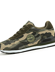 Da donna-Sneakers-Sportivo-Comoda-Piatto-Scamosciato-Verde