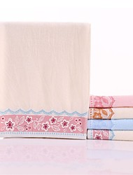 "1PC Full Cotton Thickening Hand Towel 13"" by 30"" Floral Soft Strong Water Absorption Capacity"