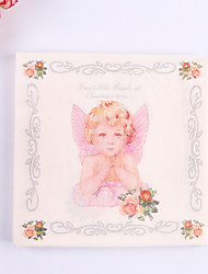 100% virgin pulp 20 pcs Angel Wedding Napkins