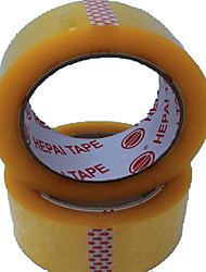 прозрачная желтая лента упаковочная лента уплотнительная лента на заказ лента БОПП лента