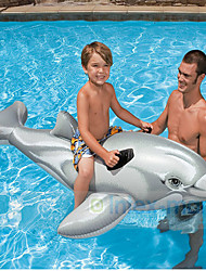 Dolphin Riding Inflatable Water Animal Mounts Children Toys