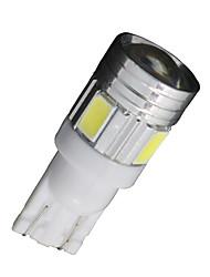 20x Xenon weiß t10 Seitenkeil samsung 5630 6SMD führte Lizenz Karte Licht w5w 2825