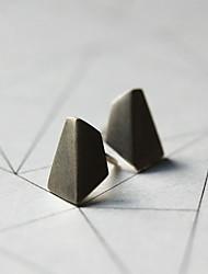 Earring Geometric Stud Earrings Jewelry Women Fashion Daily / Casual Alloy 1 pair Gold / Black / Silver