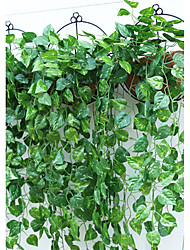 1 Une succursale Polyester Plastique Plantes Guirlande et Fleur Murale Fleurs artificielles 95(37.4'')