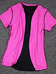 Corrida Blusas Mulheres / Homens Manga Curta Confortável / Filtro Solar Algodão / Náilon Chinês Corrida Esportivo Wear Sports Stretchy