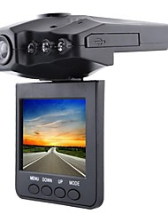btopllc 2,5 polegadas TFT LCD carro DVR com 6 luzes LED carro gravador de traço estrada câmera de vídeo gravador de condução