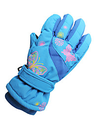Ski Gloves Winter Gloves Women's / Kid's / Unisex Activity/ Sports Gloves Keep Warm Gloves Ski & Snowboard Canvas Ski GlovesRed / Pink /