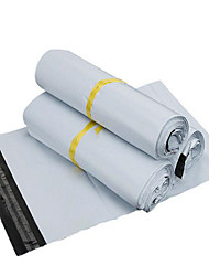 les fabricants de matériel sf destructifs Vente en gros ivoire personnalisée de nouveaux sacs de courrier de matériau 28 * 42