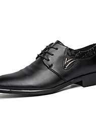 Men's Oxfords EU39-EU43 Casual/Office & Career/Party & Evening Noble Brand Leather Shoes