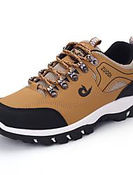 Men's Sneakers Spring / Fall Comfort PU Casual Flat HeelBlack / Brown / Green Hiking