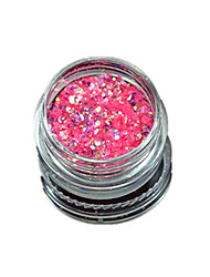 1 Bottle Nail Art Match Color Highlight Glitter Shining Colorful Powder Nail Makeup Beauty 06
