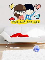 Nature morte / Paysage / Personnes Stickers muraux Stickers muraux 3D Stickers muraux décoratifs / Stickers de frigo / Stickers mariage,