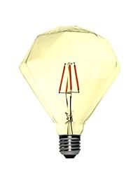 3 E26/E27 Lampadine globo LED B 4 COB 260-360 lm Bianco caldo Decorativo AC 220-240 V 1 pezzo