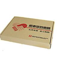 couleur jaune d'autres emballages de matériel&expédition f2 super-durs cartons d'emballage sous-vêtements un paquet de quinze