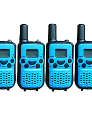 T899446CTCSS4P Walkie-talkie 0.5W 8 Channels 400-470MHz AAA alkaline battery 3km-5kmVOX / achtergrondverlichting / Encryptie /
