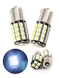 2pcs холодный белый 1156 36smd 5050 светодиодные лампы резервного обратного (DC12V)