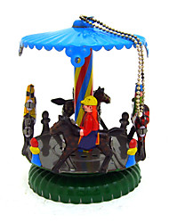 the horse Wind-up Toy Leisure Hobby  Metal Blue For Kids