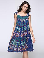 2016 New Women's Bohemian Beach Sling Dress