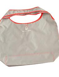 bolsas de la compra plegable de color caramelo bolsa portátil anuncios personalizados ambientales (venta de plata, cinco uno)