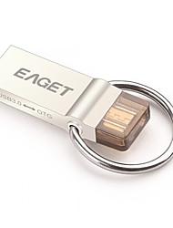 Eaget V90-64G 64GB USB 3.0 Resistente à Água / Resistente ao Choque / Tamanho Compacto / Suporte de OTG (Micro USB)