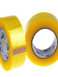 25 milímetros fita transparente de largura 45 milímetros de espessura vedação fita adesiva fita plástica de vedação pode ser personalizado