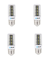 6W E14 G9 GU10 B22 E26 Ampoules Maïs LED B 42 SMD 5733 500 lm Blanc Chaud Blanc Froid Décorative AC 100-240 V 4 pièces