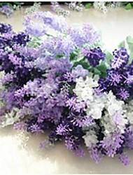 """Wedding Flowers Free-form Lavenders Decorations Wedding Polyester 0.78""""(Approx.2cm)"""