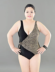 Tri't Forward Women's Straped One-piece,Floral / Solid Nylon Black