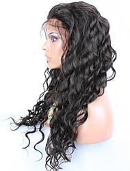 evawigs бесклеевой человеческих волос париков вода волна девственные волосы парик фронта шнурка волна испанского языка парики человеческих