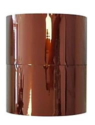 золотой цвет пластикового материала упаковки&доставка клейкая лента