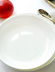 Tangshan Bone Porcelain White Plate