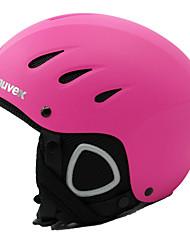 Capacete Unisexo Capacete Desporto neve Ultra Leve (UL) / Esportivo Capacete de Segurança Vermelho Capacete de neve CE EN 1077 PC / EPS