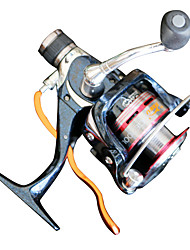 Spinning Reels 5.2:1 6 Ball Bearings Exchangable Bait Casting-GE2000 Shuangyu