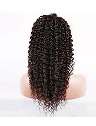evawigs não transformados crespos encaracolados u parte brasileira peruca de cabelo humano 8-26inch densidade de 130% para as mulheres