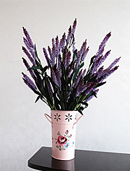 Hi-Q 1Pc Decorative Flowers Real For Wedding Home Table Decoration Lavender Artificial Flowers