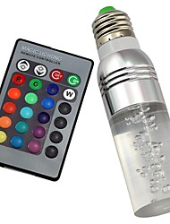 E27 B22 85V-265V 100-200Lm 3W RGB Crystal Spotlight Remote Control Lights 16 Full-color Lights