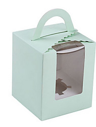 X02 Green Color Packaging & Shipping Food Packaging Box A Pack of Seventeen