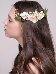 MISS DIVA Women's Tulle Headpiece Flowers 1 Piece Pink Flower 20