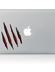 1 Pça. Resistente a Riscos De Plástico Transparente Adesivo Estampa ParaPro MacBook 15 '' com Retina / MacBook Pro 15 '' / MacBook Pro 13