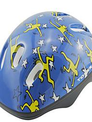 Capacete(Azul,EPS / PVC) -N/D-Crianças 6 Aberturas Ciclismo / Ciclismo de Lazer / Patinagem Artistica