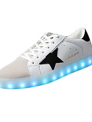 Herrenschuhe-Lässig-Sneaker-PU-Schwarz / Grün