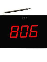 téléavertisseur sans fil teahouse net cafe restaurant banque service de Bell montre pager bulletin ape6600 cloche