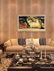 Mode Stickers muraux Stickers muraux 3D Stickers muraux décoratifs,Nonwoven Matériel Amovible Décoration d'intérieur Wall Decal