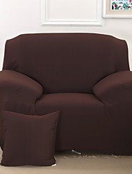 solide serviette canapé serré tout compris slipcover antidérapante tissu housse de canapé élastique (citron / bleu foncé / noir)