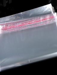 Taobao Selling Self-Adhesive Bags Logo Bags Opp Transparent Plastic Garment Bags Wholesale Manufacturers