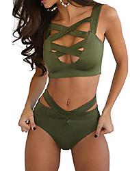 Women's Sexy Bandage High waist Bikini