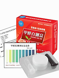 Other Material White Color Analyzers Formaldehyde Test Kit Four Boxes